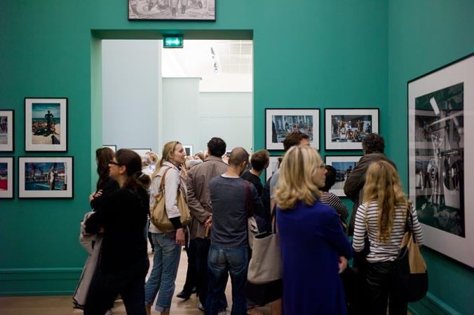 Helmut Newton Exhibition at Grand Palais, Paris.