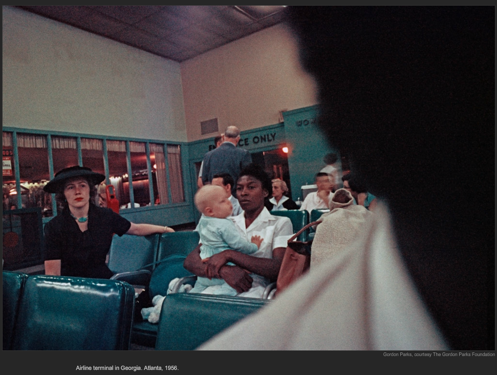 Gordon Parks on NYTimes Lens Blog