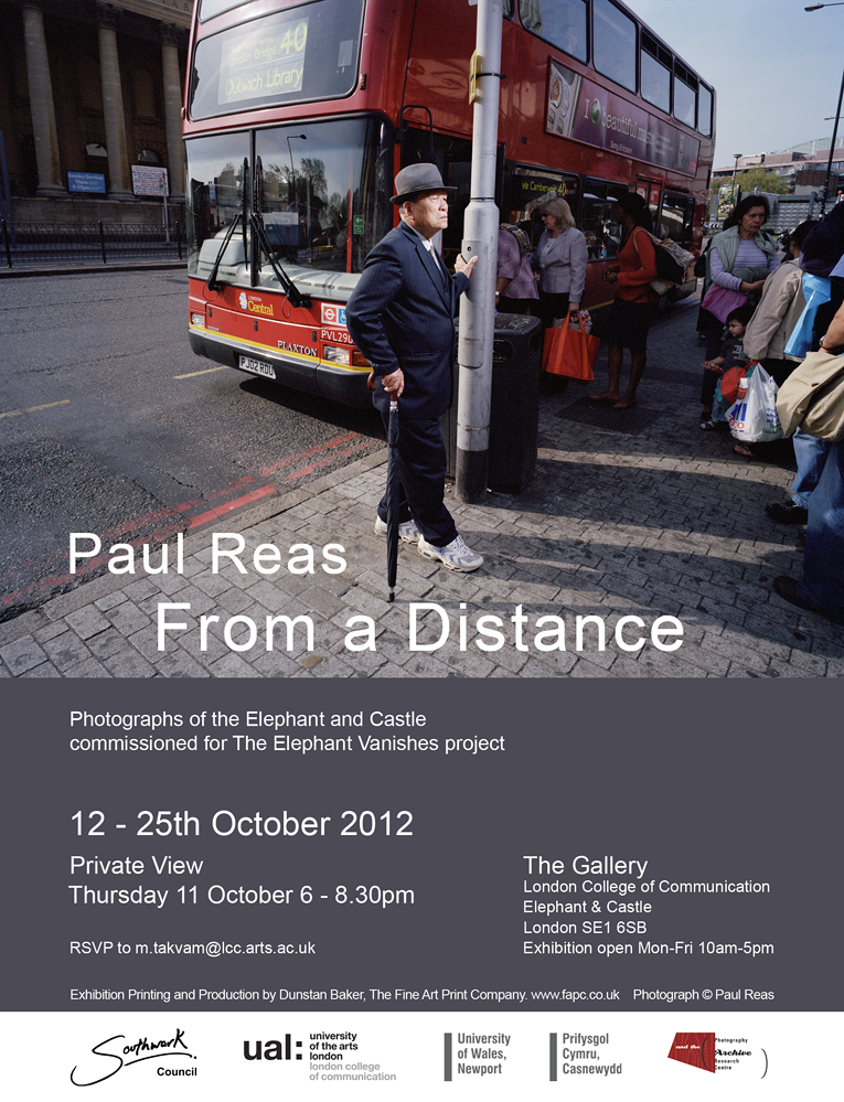 Paul Reas invite