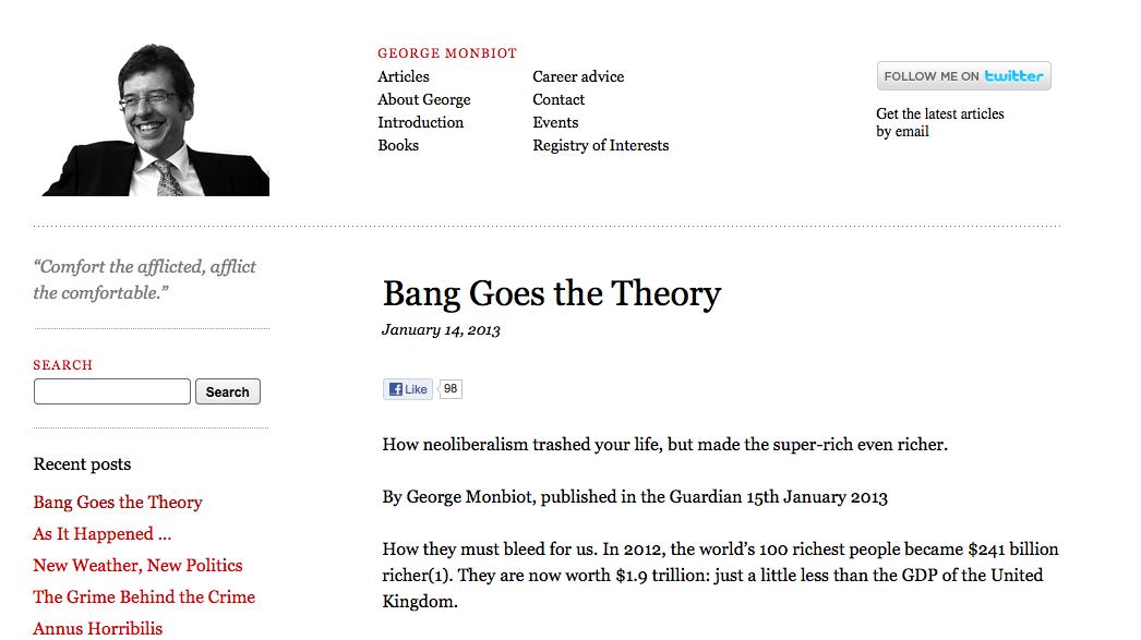 George Monbiot.com