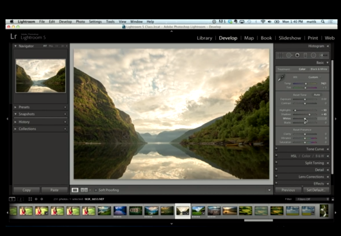 Lightroom: tricks that I did not know.