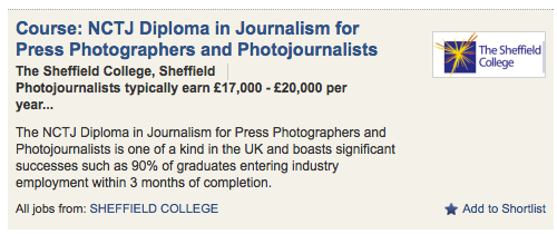 Low pay in Photojournalism