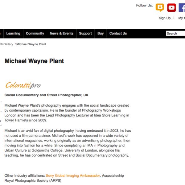X-Rite Colloratti Pro Michael Wayne Plant