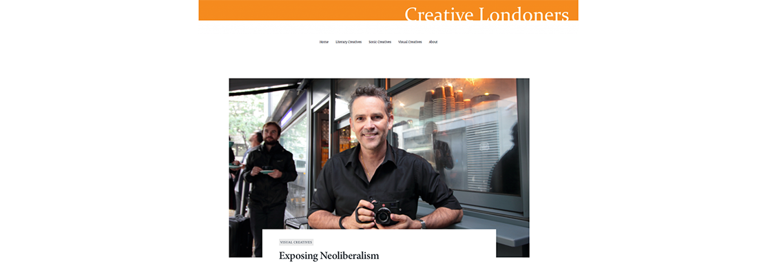 Featured on Creative Londoners