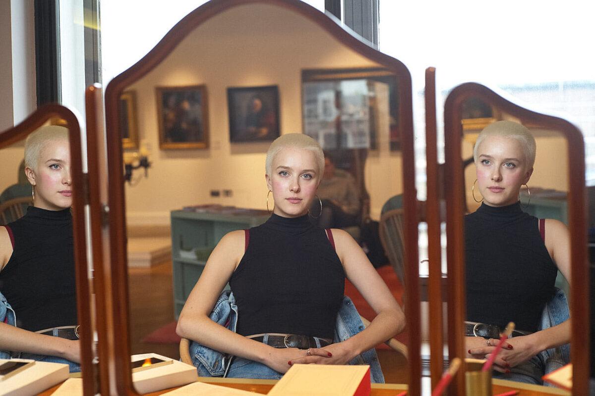 Lily Gwynne-Thomas photographic portrait by Michael Wayne Plant